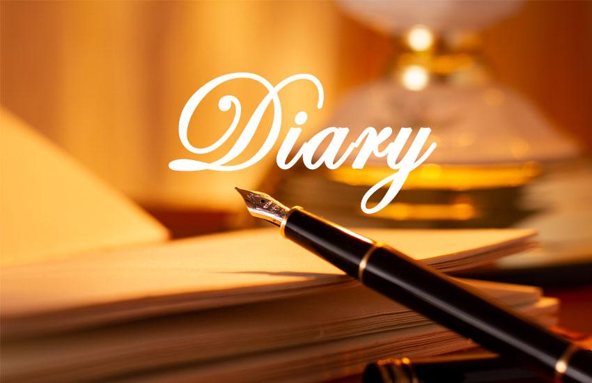 ブログの日記