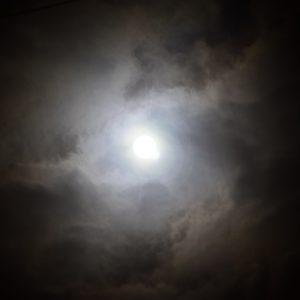 闇の中に輝く光