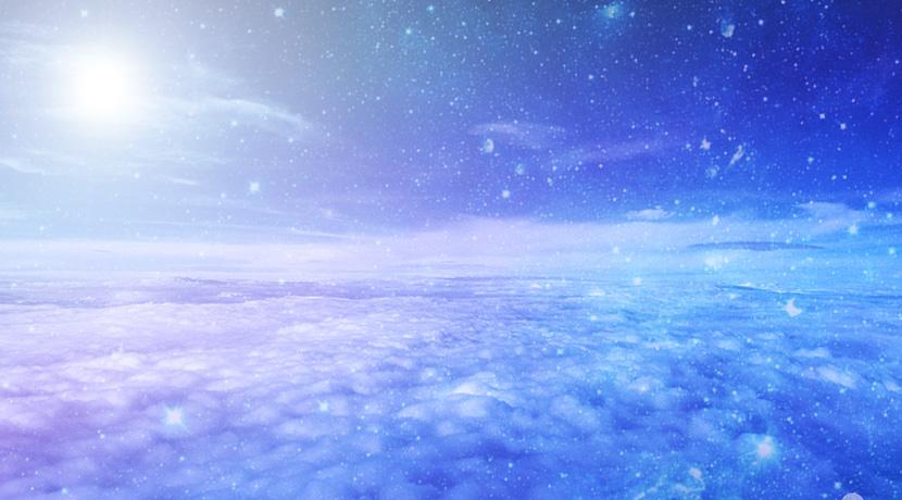 天空の光の画像