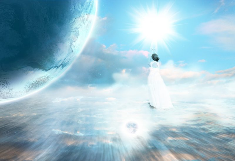 地球その水の星の巫女