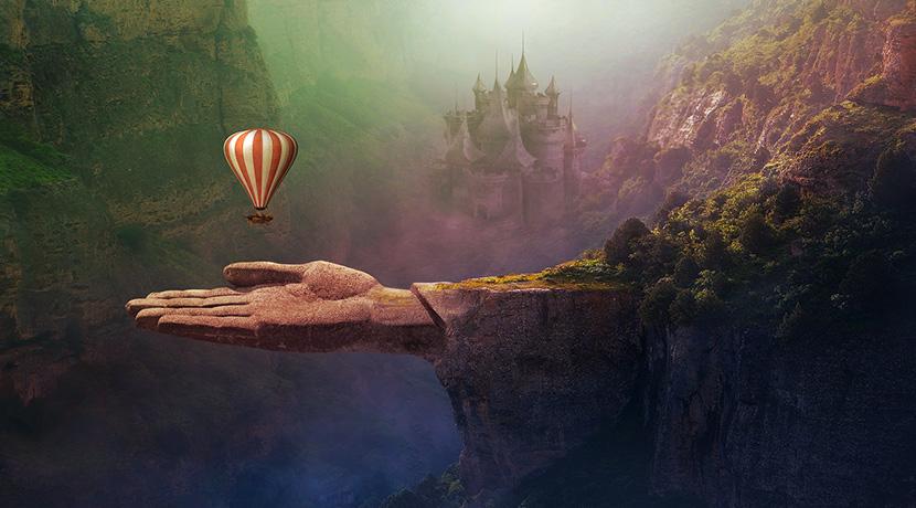 夢の中の景観画像