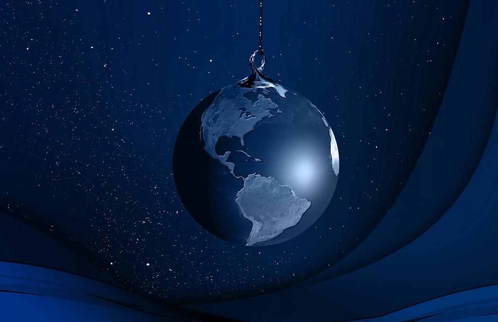 想念上の地球
