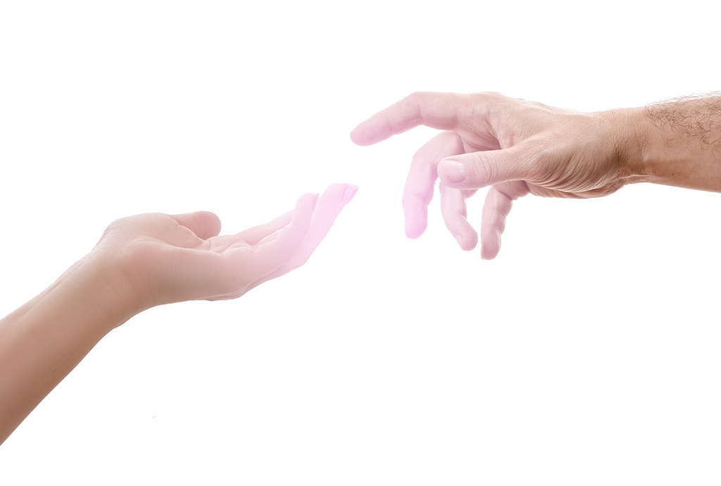 指先のオーラ