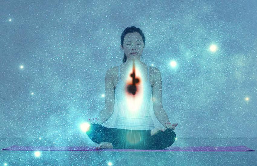 マイナスエネルギーを呼吸法ではき出す