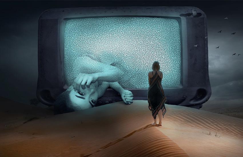 悪夢を眺める